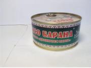 """Предлагаем: консервы Баранина""""халяль"""" с ключом 325гр Краснодар"""
