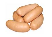 """Предлагаем: Сардельки """"свиные Люкс"""" доставка из г.Витебск"""