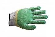 Перчатки х/б с двойным латексным покрытием утеплённые доставка из г.Москва