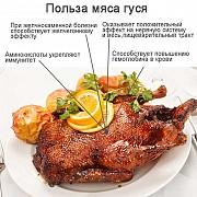 Мясо гуся Санкт-Петербург