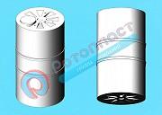 15000 литров пластиковая вертикальная емкость доставка из г.Мытищи