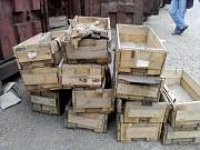 Тара, контейнеры, ящики, металлическая, деревянная, складская, б/у Челябинск